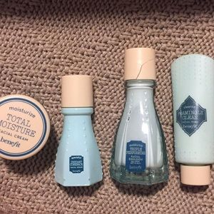 Travel size skin care set from benefit